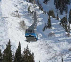 Snowbird Tram-mavi